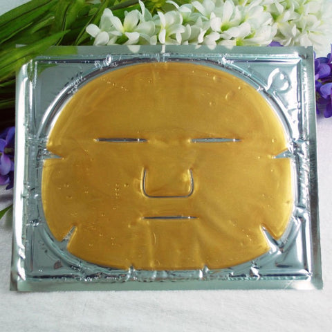 24k GOLD Facial Masks with Crystal Collagen - Single Mask