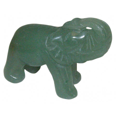 Green Aventurine Elephant 50mm - Comfort, Luck, Healing and Love