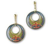 Mother Earth Pendant and Earrings