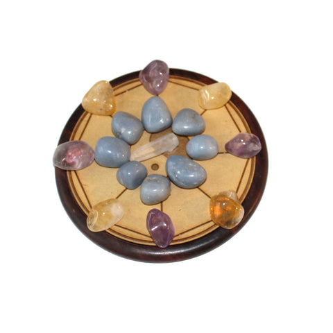 Home Blessing Crystal Grid - Sacred Geometry - Crystal Healing - Gift Idea