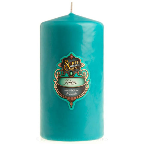ISHTAR Pillar Candles | Large 90 hours burn time