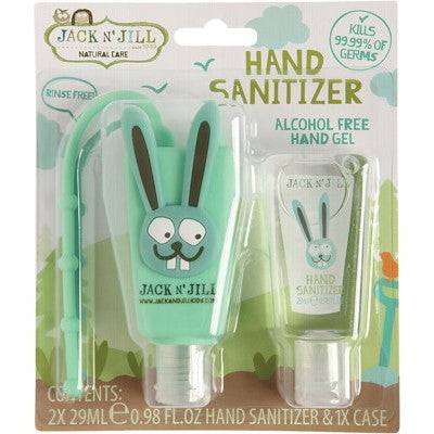Jack N' Jill Kids Hand Sanitisers 2 x 29ml - *Alcohol Free*