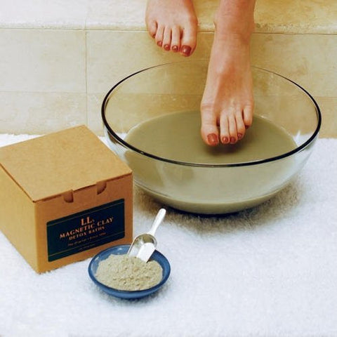 LL's Magnetic Bentonite Detox Clay Baths - 6 to Choose