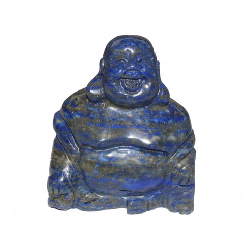Lapis Lazuli Buddha 70mm - Stress • Communication • Intuition • Inner Power