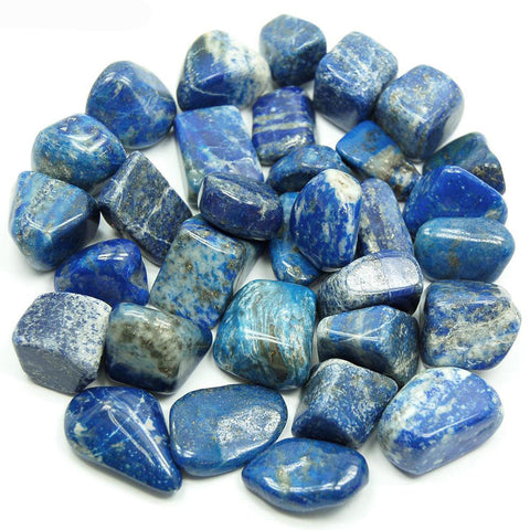 Lapis Lazuli Tumbled Stone - Stress, Communication, Intuition and Inner Power
