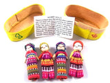 Large Worry Dolls in Traditional Yellow Box