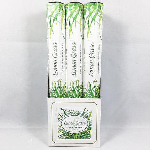 LEMONGRASS Incense Sticks - Premium Fragrance - Handmade