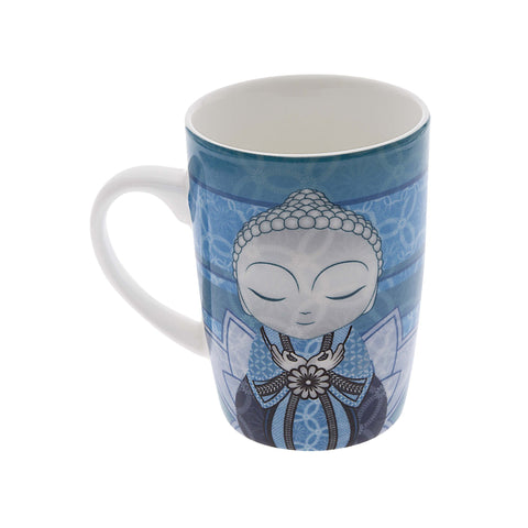 Little Buddha Bone China Mug - Impossible Journey - Gift Idea