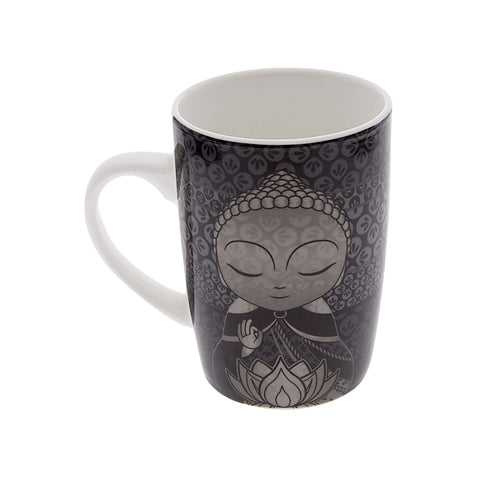 Little Buddha Bone China Mug - What we Give - Gift Idea