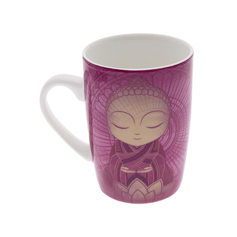 Little Buddha Bone China Mug - With Purpose - Gift Idea