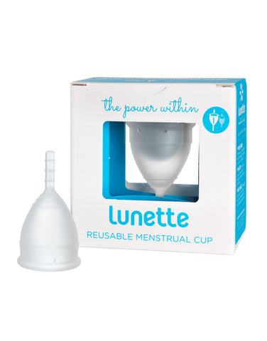 Lunette Menstrual Cup Clear - Model 1