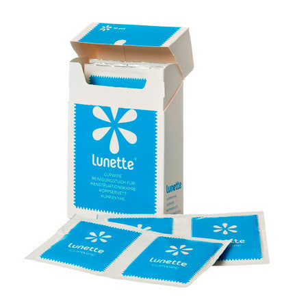 Lunette Menstrual Cup Disinfecting Wipes 10
