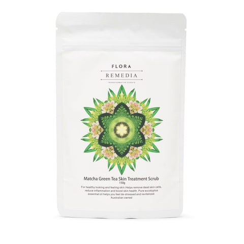 MATCHA Green Tea Skin Treatment Scrub - Flora Remedia