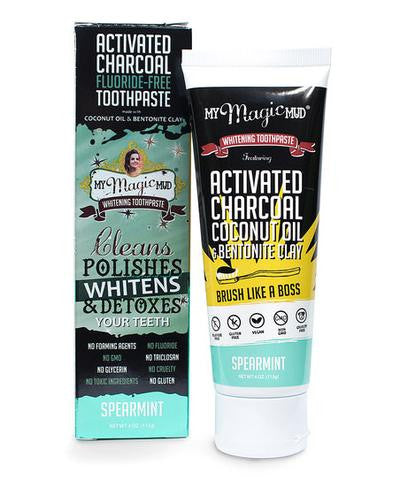 My Magic Mud Whitening Toothpaste - Spearmint -113g