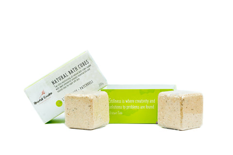 Bath Cubes - Lemongrass and Patchouli - Box 2