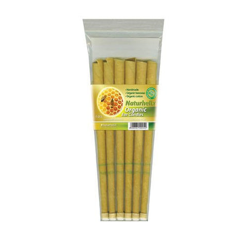 Ear Candles BIO Certified Organic | Pack of 6 | 3 Pairs | Naturhelix