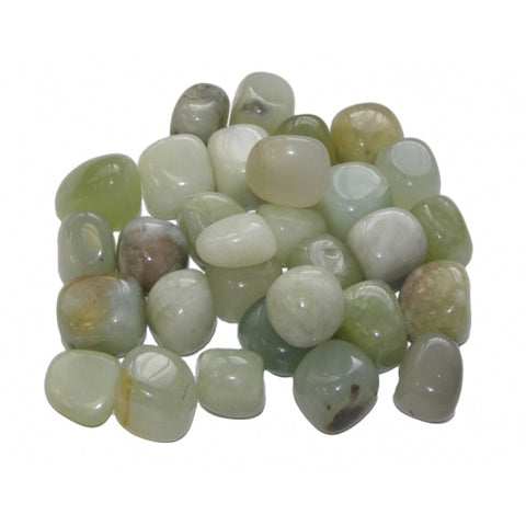 NEW Jade (Small) Tumbled Stone - Luck, Love, Money and Healing - Crystal Healing