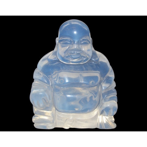 Opalite Crystal Healing Buddha 75mm - The Holistiic Shop in Wagga Wagga