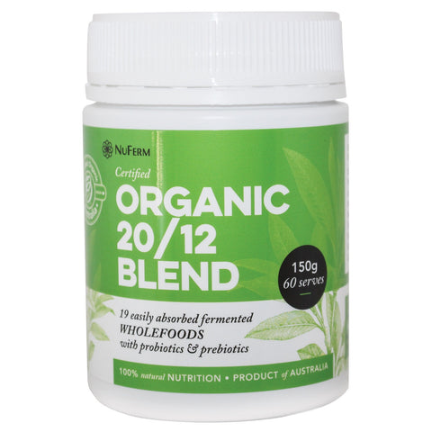 Nuferm 2012 Certified Organic Wholefoods and Probiotic Blend - 150g
