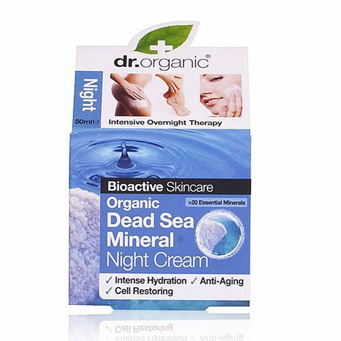 Dr Organic Dead Sea Minerals Night Cream 50ml