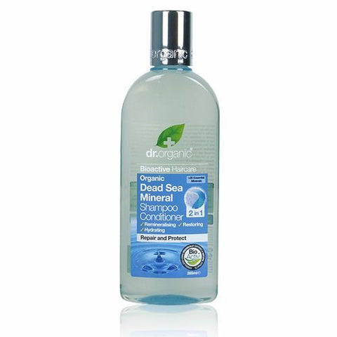 Dr Organic Dead Sea Minerals Shampoo & Conditioner 2in1 265ml