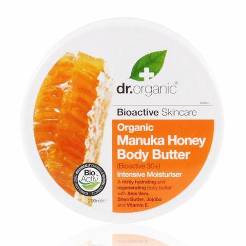 Dr Organic Manuka Honey Body Butter 200ml - May Special Offer