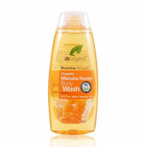 Dr Organic Manuka Honey Body Wash 250ml - May Special Offer