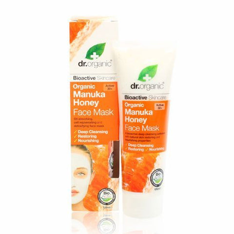 Dr Organic Manuka Honey Face Mask 125ml - May Special Offer