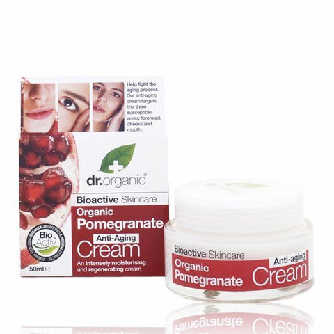 Dr Organic Pomegranate Anti-Aging Cream 50ml - February Special Offer