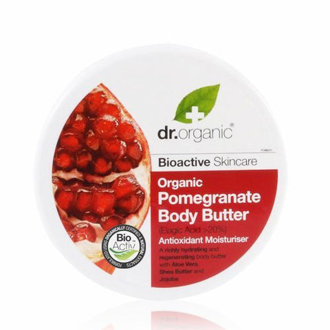 Dr Organic Pomegranate Body Butter 200ml - September Special Offer