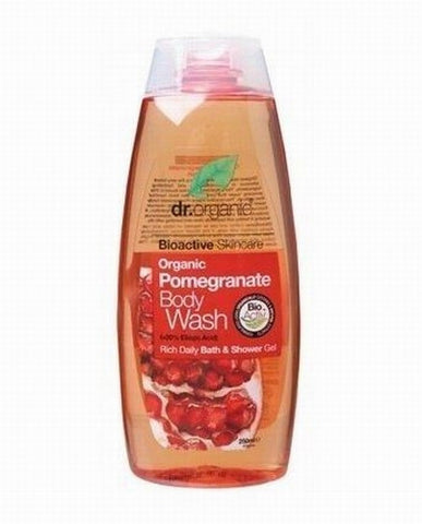 Dr Organic Pomegranate Body Wash 250ml - September Special Offer