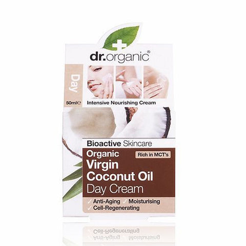 Dr Organic Virgin Coconut Oil Day Cream 50ml - November Special Offer