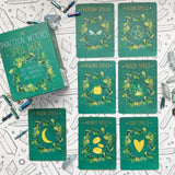 Practical Witch's Spell Card Deck- Gerridwen Greenleaf - 100 Spell for Love, Happiness and Success