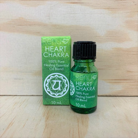 Renu Heart Chakra Essential Oil Blend with 100% Pure Essential Oils of Orange, Ylang Ylang, Lavender and Neroli.