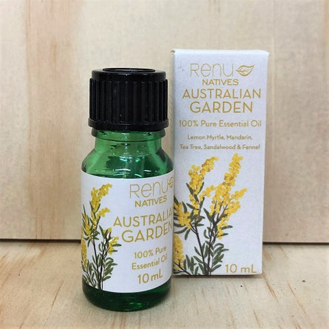Australian Natives Essential Oil Blend - Garden 10 ml - RENU Aromatherapy