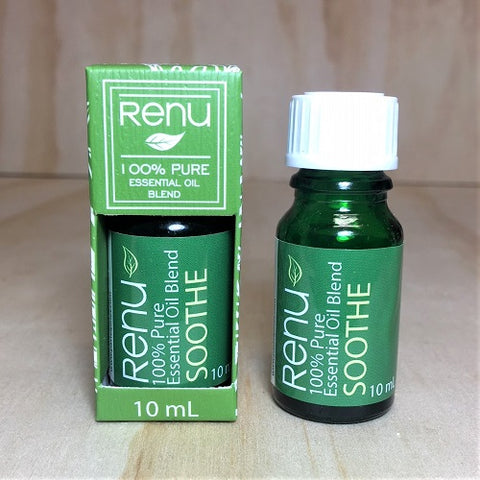 Soothe Pure Essential Oil Blend 10 ml - RENU Aromatherapy