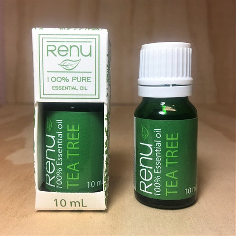 Tea Tree PURE Essential Oil 10ml - RENU Aromatherapy