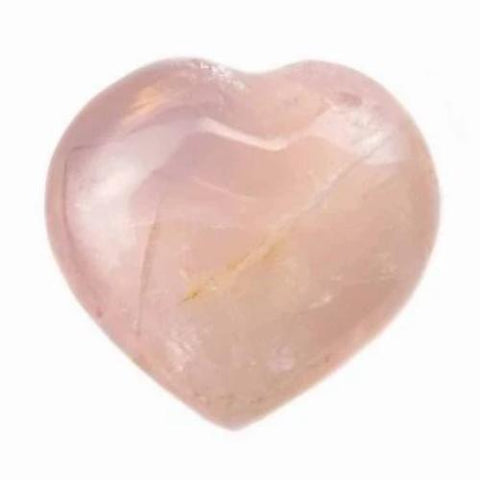 Rose Quartz Crystal Heart Small 25mm - Love, Friendship and Partnership - Healing Crystal - Gift Idea