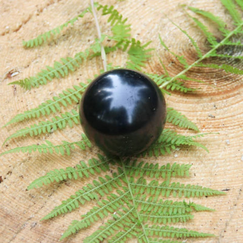 Shungite Sphere 40mm - Purification, Protection and Stress - Crystal Healing - Gift Idea
