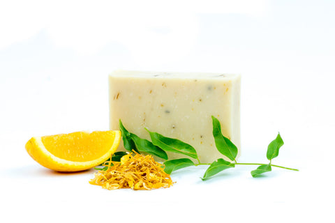 Handmade Soap Bar Sweet Orange and Patchouli - 125g