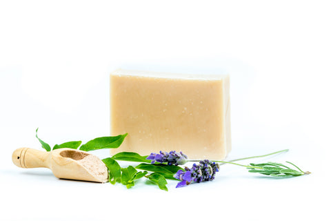Handmade Soap Bar Lavender and Patchouli - 125g