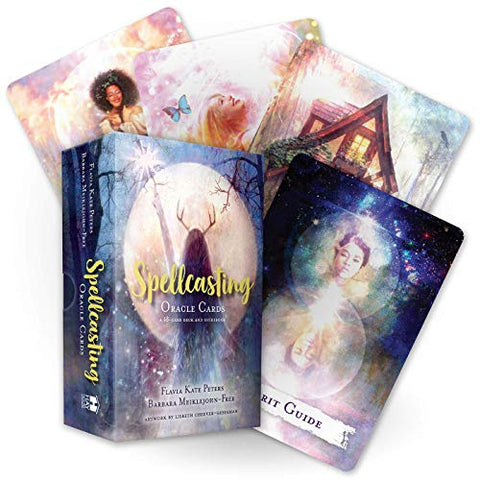 Spell Casting Oracle Cards - Flavia Kate Peters and Barbara Meiklejohn-Free