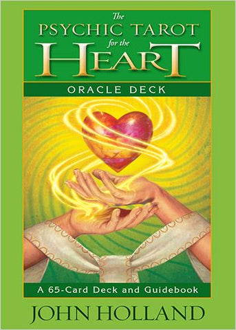 The Psychic Tarot for the Heart Oracle Card Deck - John Holland