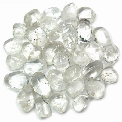 Clear Crystal Quartz Tumbled Stone - Master Healer