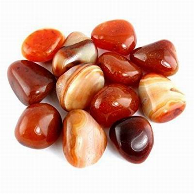 Carnelian Tumbled Stone - Energy, Creativity, Physical Vitality and Grounding