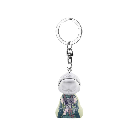 Little Buddha Figurine Keychain - Upon Waking