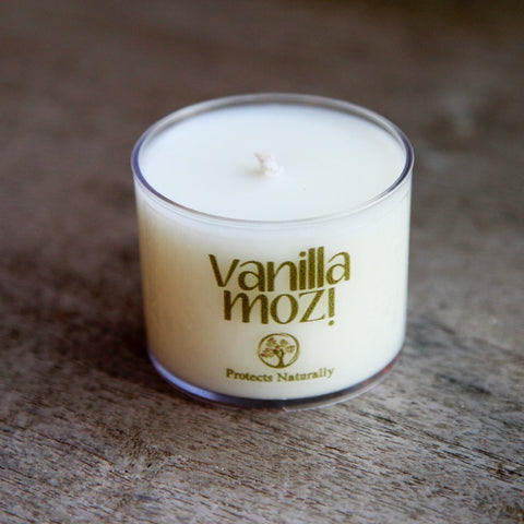 Vanilla Mozi Soy Spa Cup Candle - Single
