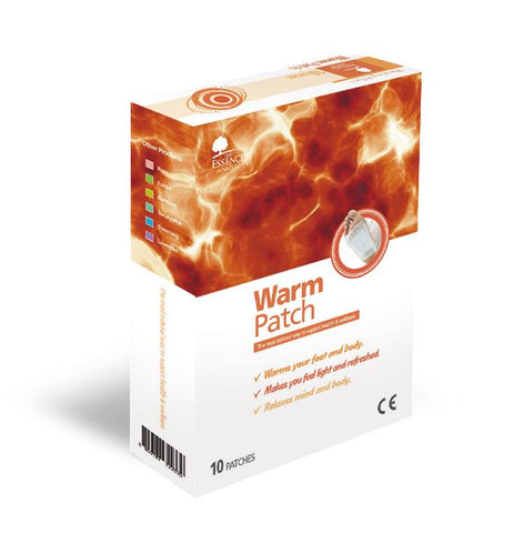 Korean Sap Detox Foot Patches Warm  - Box of 10 - Superior Quality