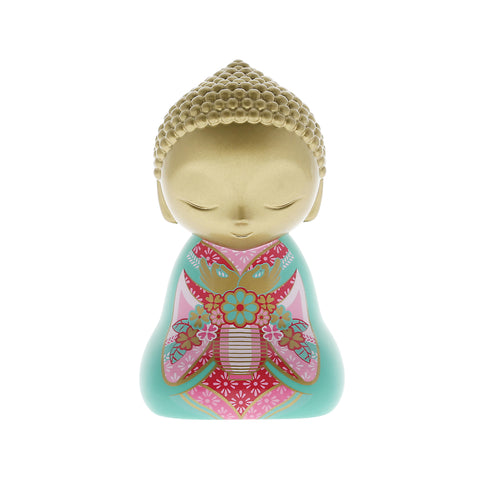 Little Buddha Collectable Figurine - What You Think - 90mm - Gift Idea