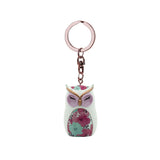 HOPE - Owl Figurine Keychain 45mm - Wise Wings - Gift idea